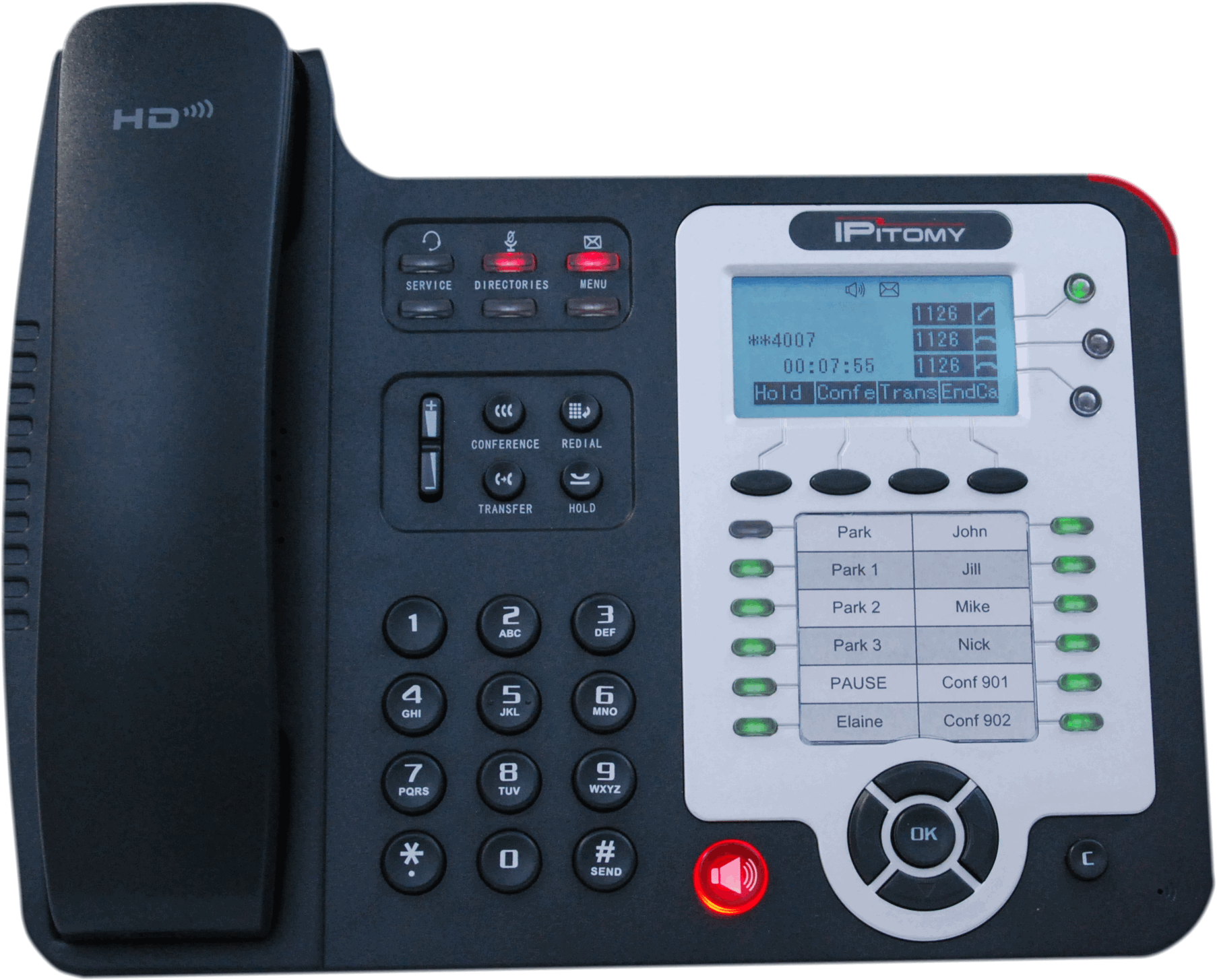 IP330-G  Gig Ethernet IP Phone with HD Voice