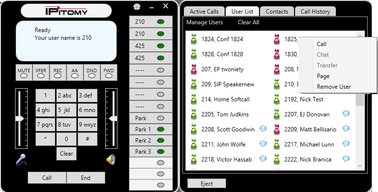 IPitomy Soft Phone